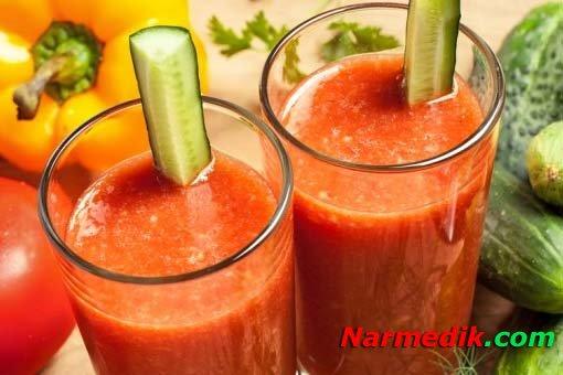 Можно ли пить томатный сок вечером